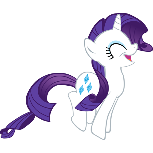 happy, rarity, smile, yay